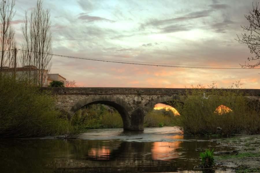Puente Castells en los alrededores de Carmelo