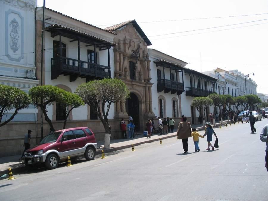 Casa de la Libertad en la ciudad de Sucre