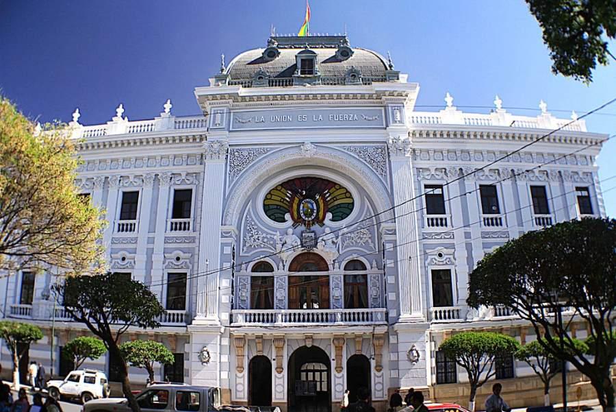 Palacio del Gobierno Autónomo Departamental de Chuquisaca en Sucre