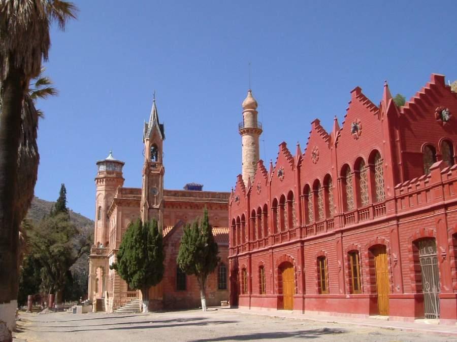 Castillo de La Glorieta en la ciudad de Sucre