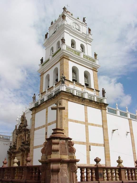 Conoce la Catedral Metropolitana de Sucre