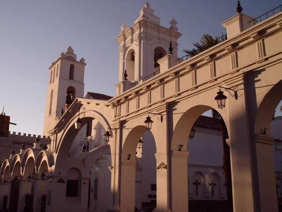Basílica de San Francisco en la ciudad de Sucre
