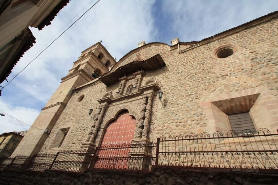 Convento de San Francisco en la ciudad de Potosí