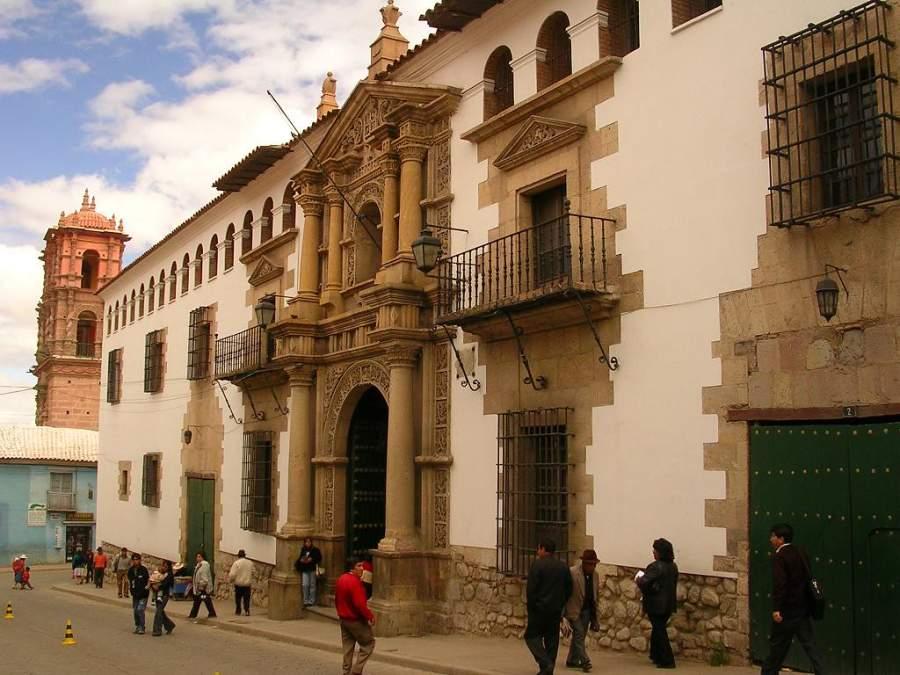 Exterior de la Casa de la Moneda en Potosí