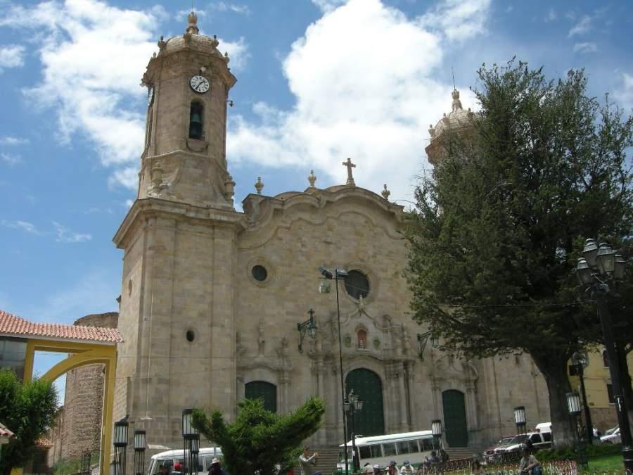 La Catedral de Potosí es de estilo gótico