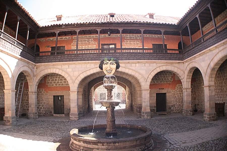 Fachada de la Casa de la Moneda en Potosí