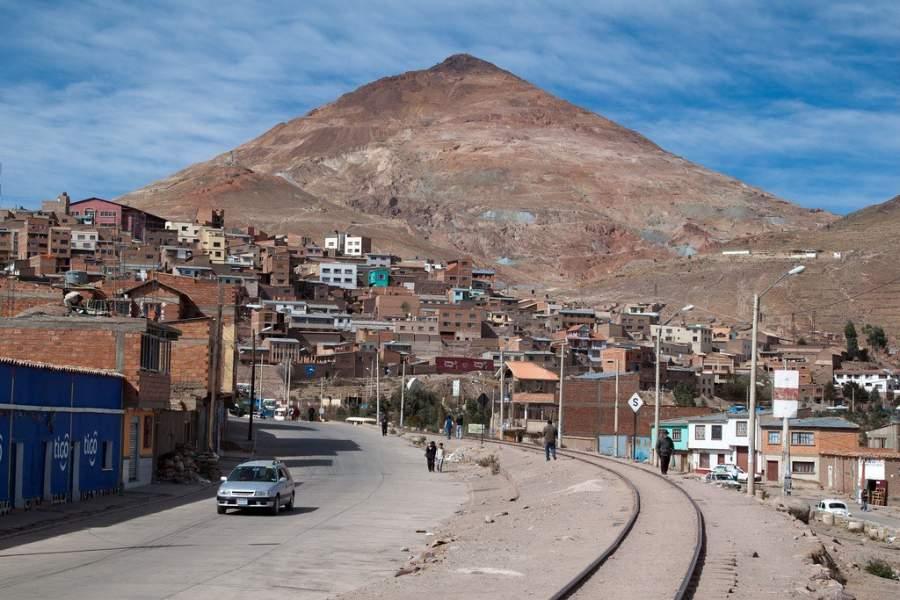 Vista de la ciudad de Potosí