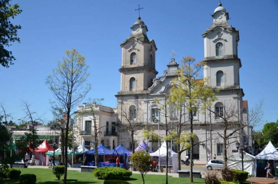 Centro de la ciudad de Pilar
