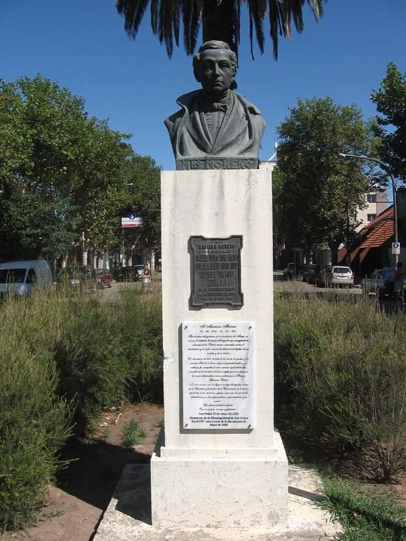 Monumento de Mariano Moreno en San Pedro