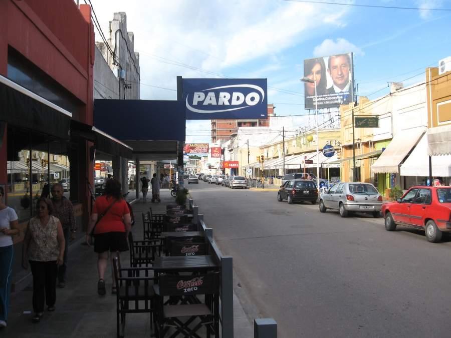 Avenida en la ciudad de San Pedro