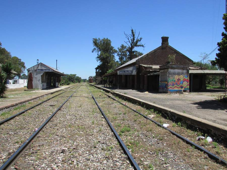 Estación de tren en San Pedro