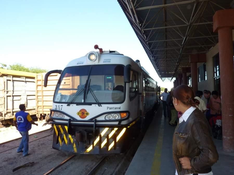 Terminal de tren en Santa Cruz de la Sierra