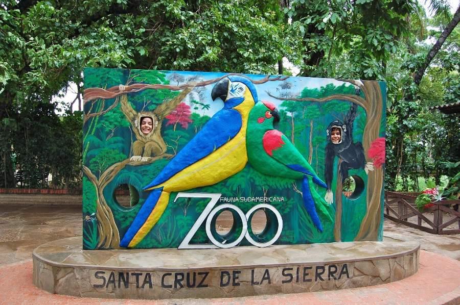 Zoológico Municipal Fauna Sudamericana en Santa Cruz de la Sierra