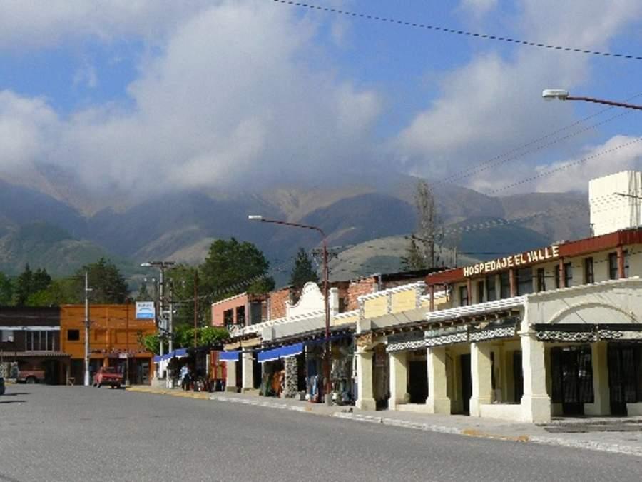 Calle principal de Tafí del Valle