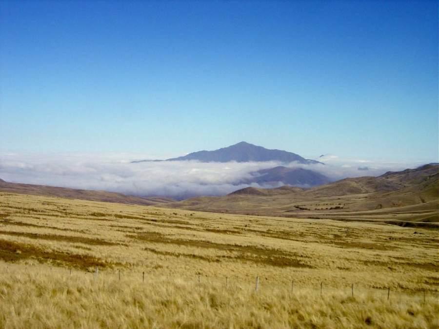 Paisaje de la región de Tafí del Valle en la provincia de Tucumán