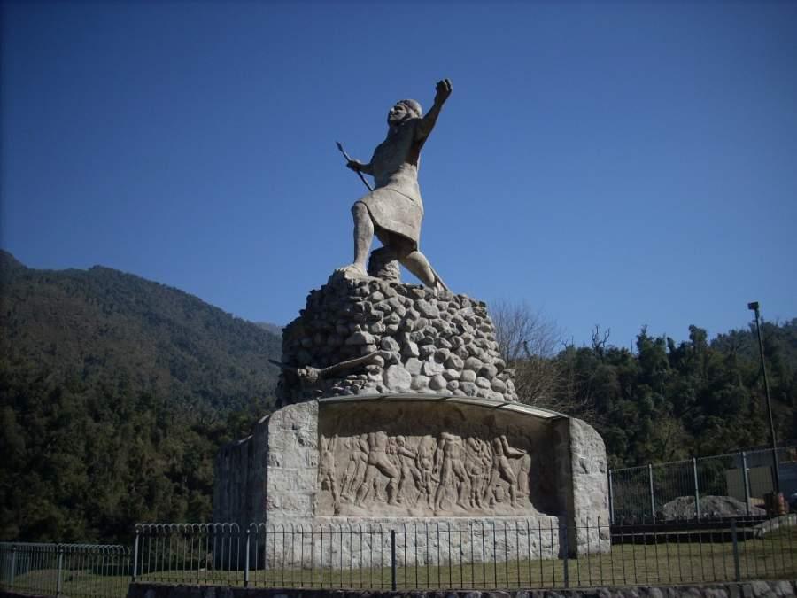Monumento El Indio en Tafí del Valle