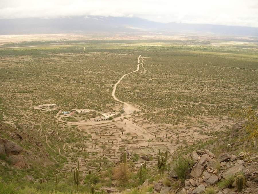 Cumbres Calchaquíes en los alrededores de Tafí del Valle