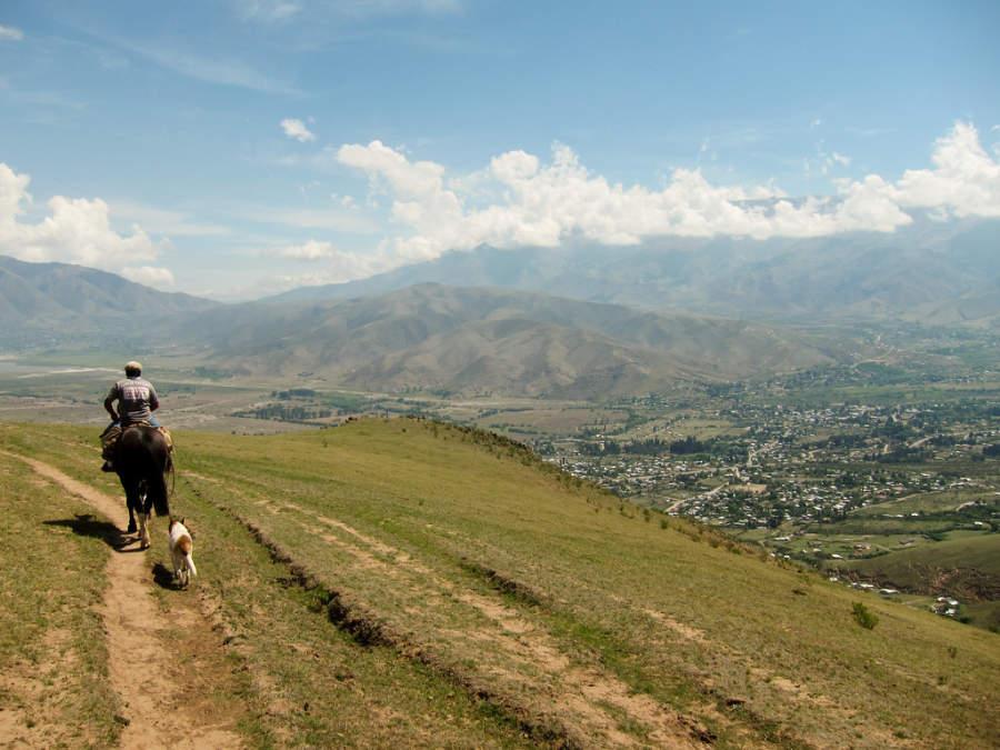 Paseo a caballo por la región de Tafí del Valle