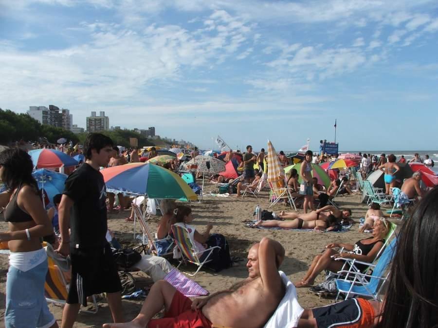 Playa en San Bernardo del Tuyú