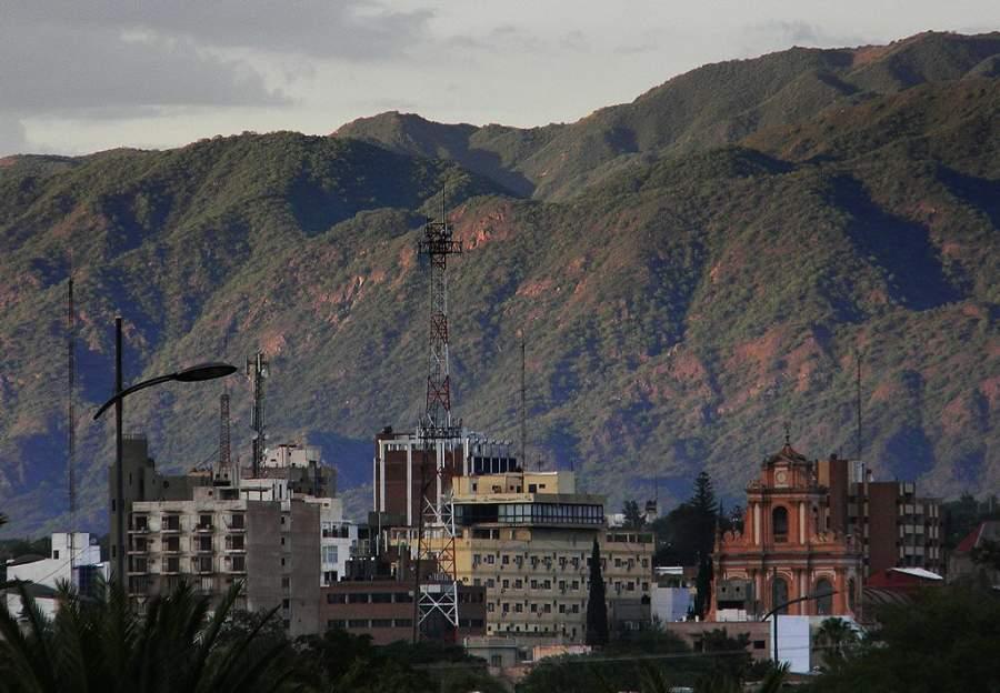 Vista del centro de la ciudad San Fernando del Valle