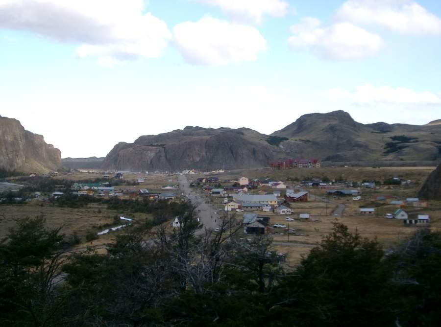 El poblado de El Chaltén es ideal para explorar las montañas y glaciares de los alrededores