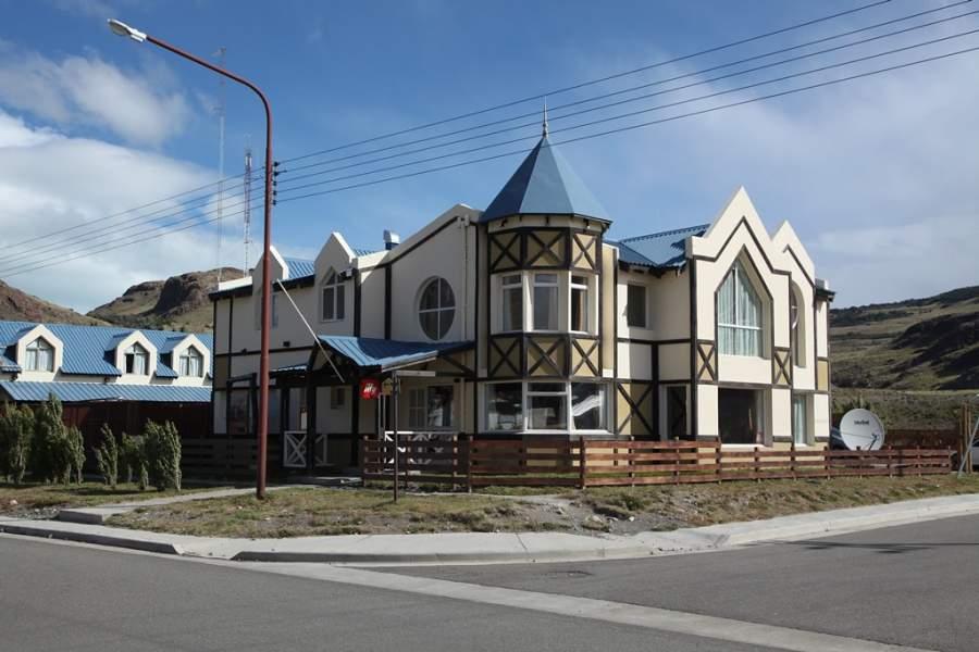 El pueblo de El Chaltén dispone de varios hoteles