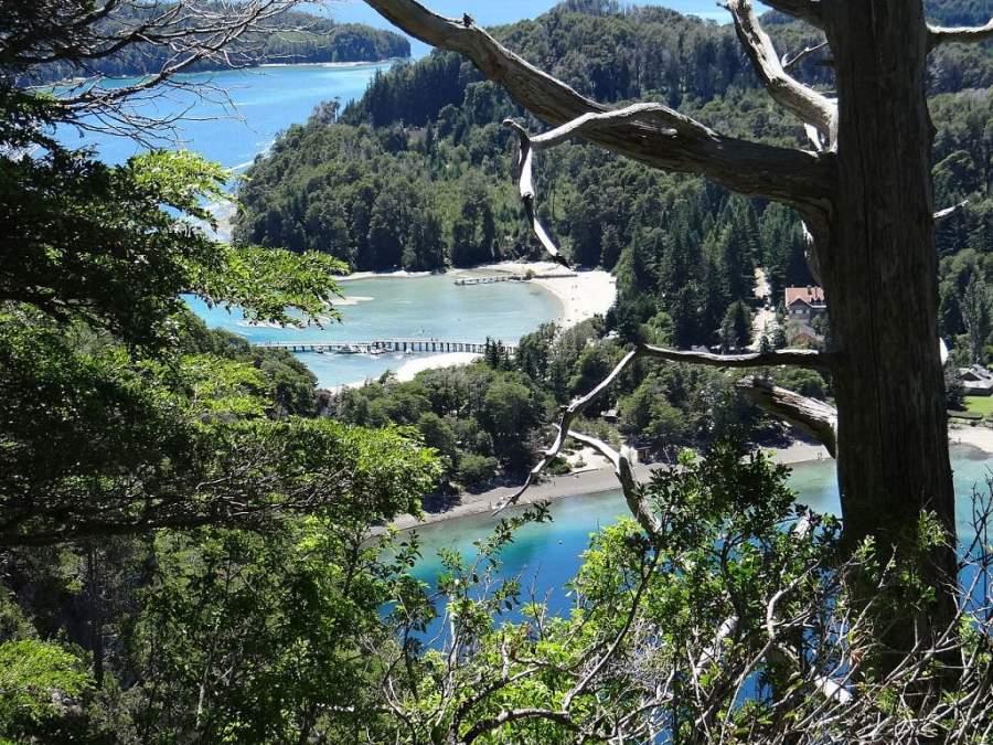 Vista panorámica del Parque Nacional Los Arrayanes