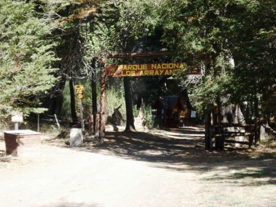 Entrada al Parque Nacional Los Arrayanes