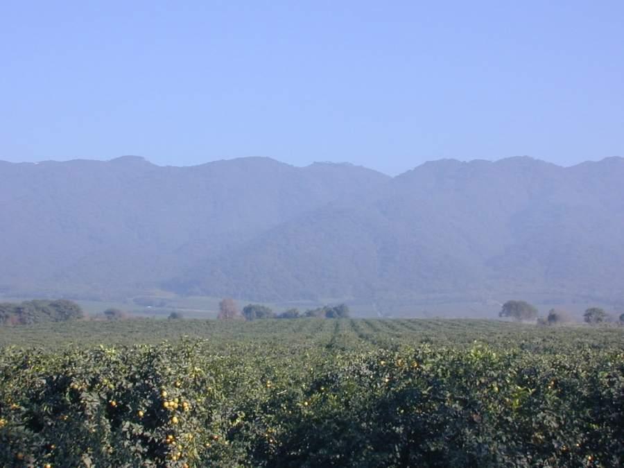 Vista del Cerro San Javier desde San Miguel de Tucumán