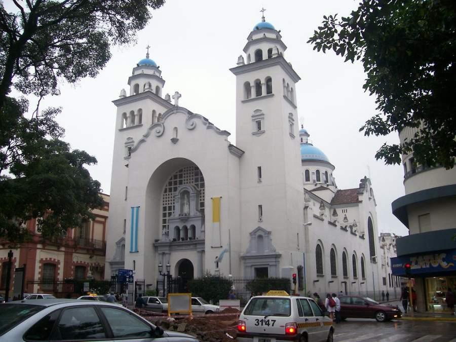 Vista exterior de la Iglesia de la Merced