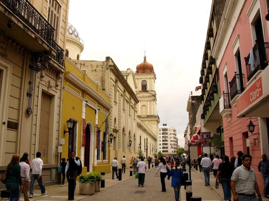 Paseo de la Independencia en San Miguel de Tucumán