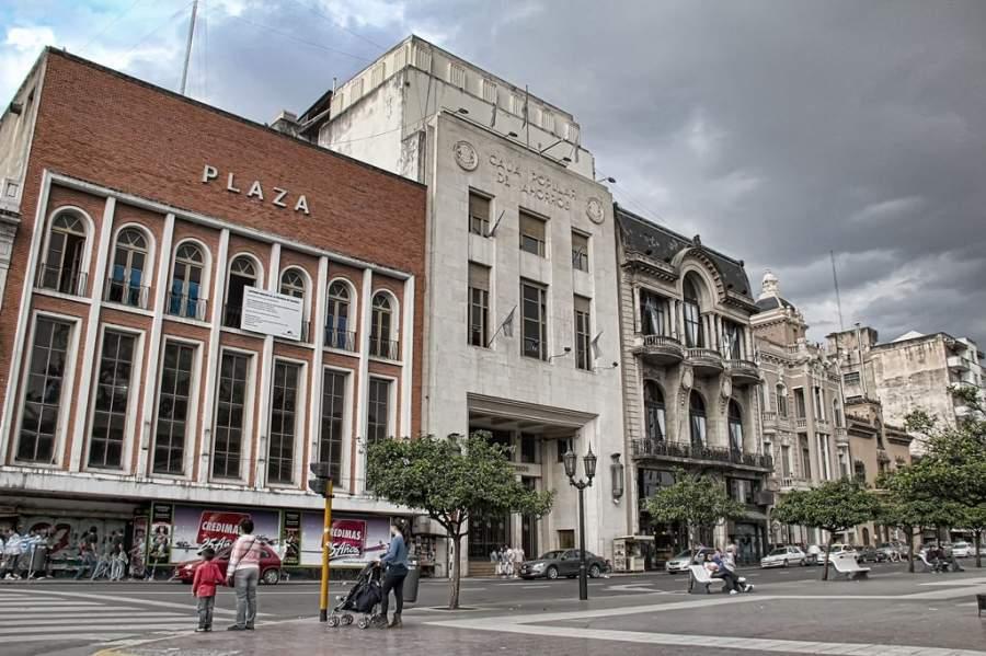 La Plaza Independencia es una de las más importantes de San Miguel de Tucumán