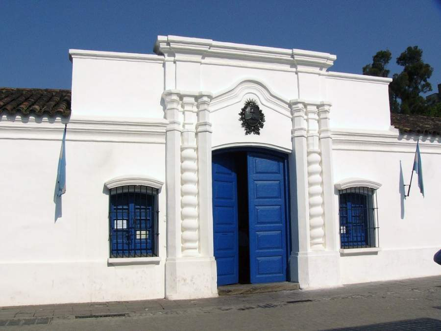 Entrada de la Casa Histórica de la Independencia de Tucumán