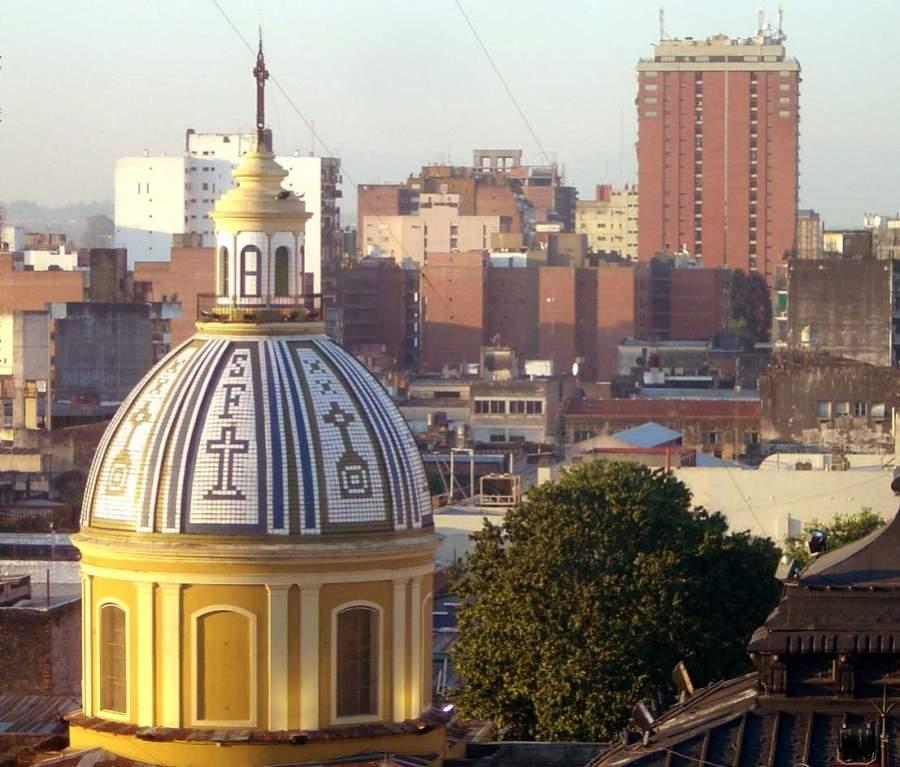 Paisaje urbano de San Miguel de Tucumán