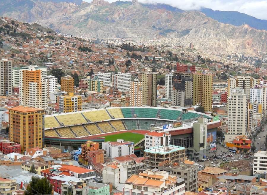 Estadio Hernando Siles en Nuestra Señora de La Paz