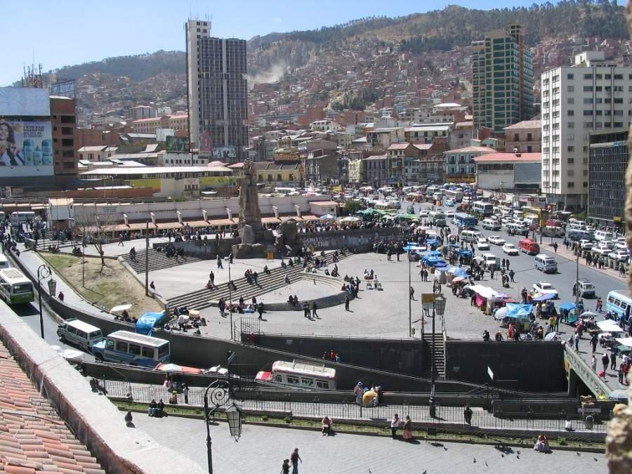La Paz es una de las ciudades más importantes de Bolivia