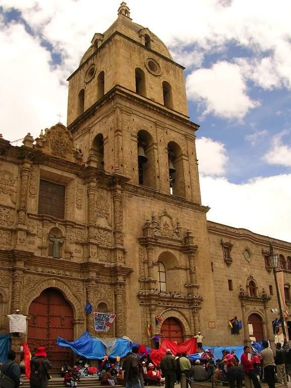 Basílica de San Francisco en Nuestra Señora de La Paz