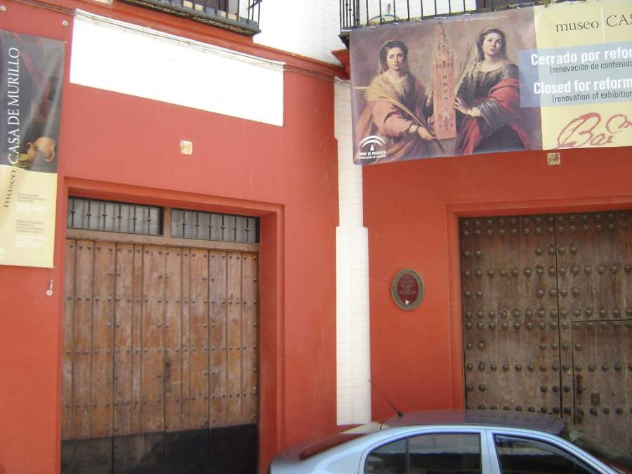 Fachada del Museo Casa de Murillo