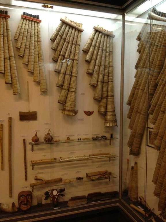 Interior del Museo de Instrumentos Musicales de Bolivia