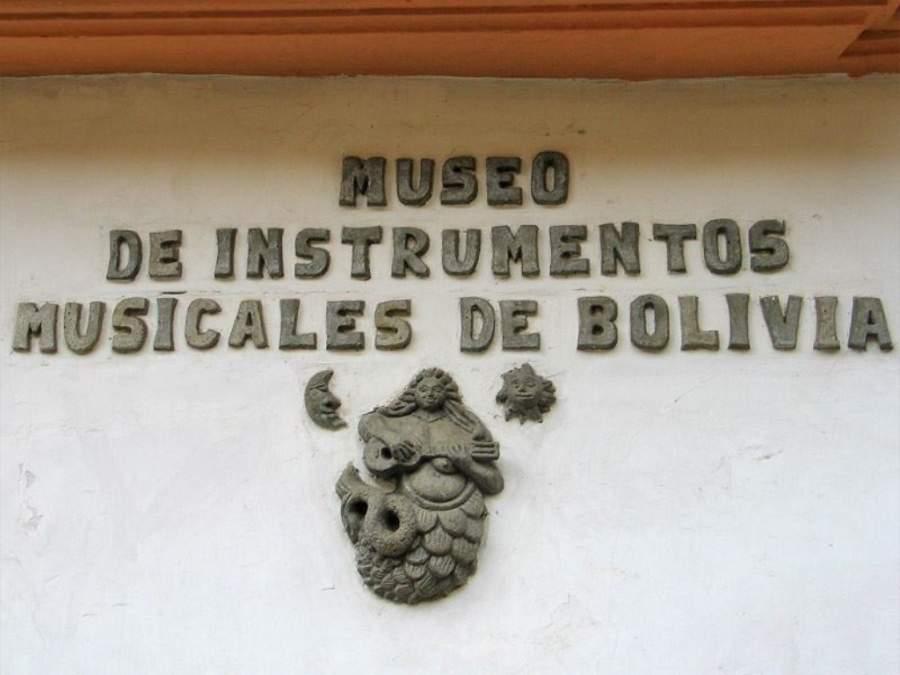 El Museo de Instrumentos Musicales de Bolivia es uno de los más importantes en la ciudad