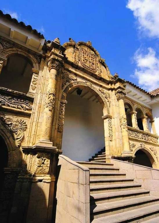 El Museo Nacional de Etnografía y Folklore está en el Palacio de los Marqueses
