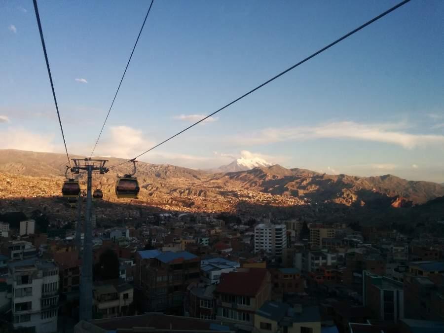 Mi Teleférico en Nuestra Señora de La Paz, Bolivia