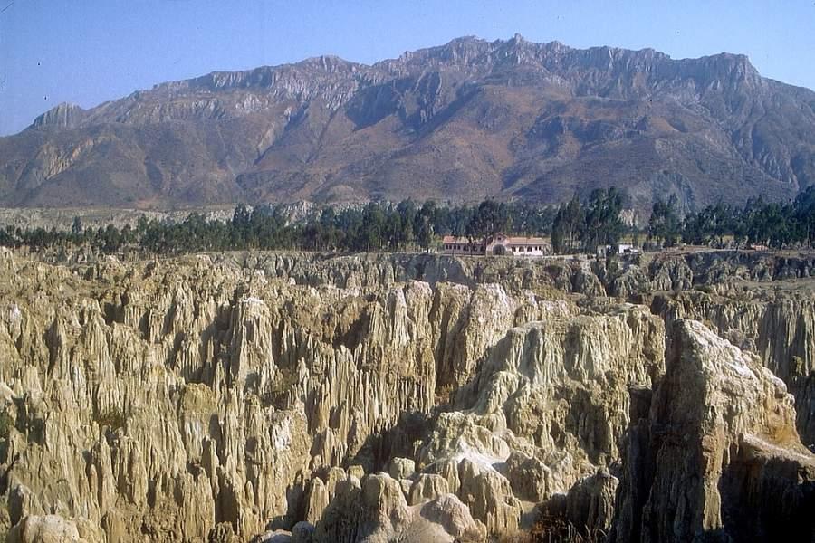 Valle de la Luna en La Paz