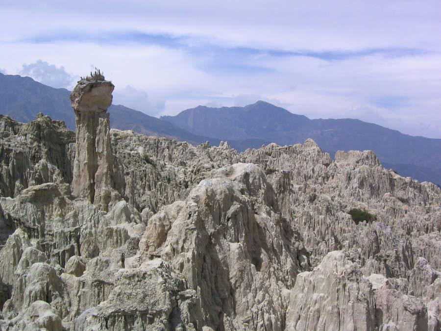 El Valle de la Luna es una destacada atracción natural en La Paz