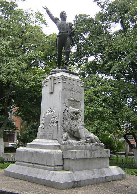 Estatua de José María Córdoba