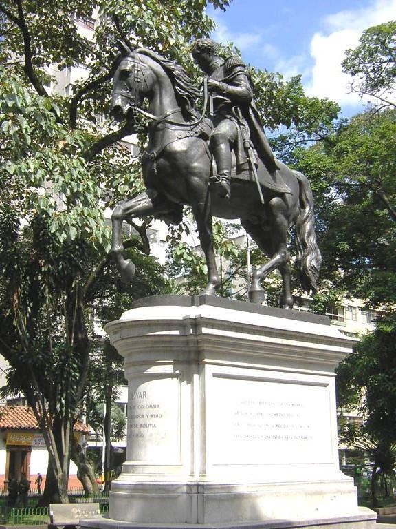 Estatua ecuestre de Simón Bolívar