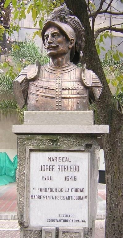 Busto de Jorge Robledo