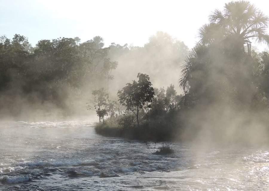 Aguas termales del Parque Nacional de las Emas