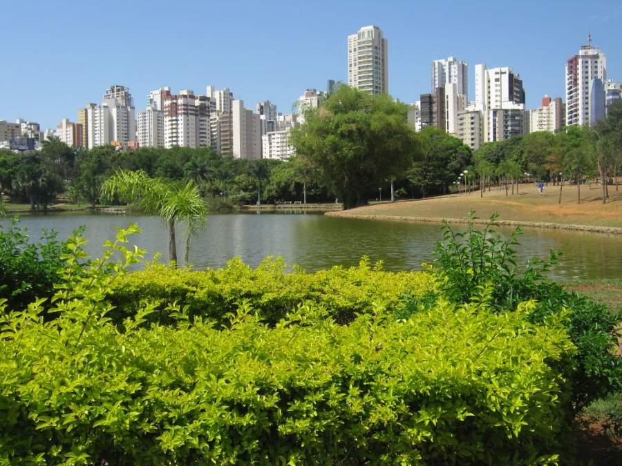 El Parque Vaca Brava es uno de los más importantes de Goiânia