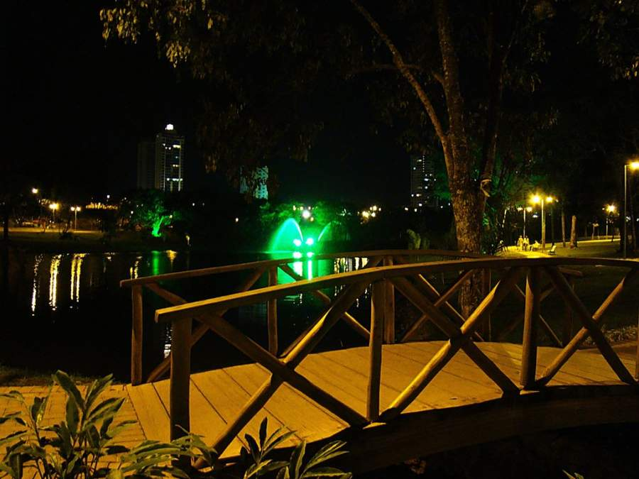 Parque Flamboyant, punto de reunión y encuentro de Goiânia